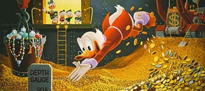 Picsou nous explique comment réussir dans la finance